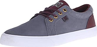 DC Mens Council SEM Skateboarding Shoe GreyWhite 75 D US