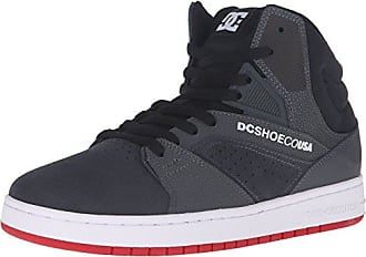 DC Mens Seneca High Skate Shoe Grey/Black 6 M US