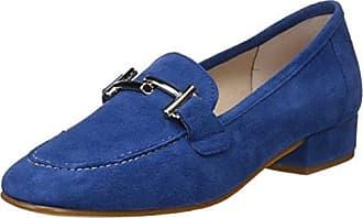 5100, Zapatos de Tacón con Punta Cerrada para Mujer, Azul (Blue), 41 EU D'Chicas