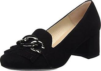 DCHICAS 6883, Zapatos de Cordones Oxford para Mujer, Gris (Aire Negro/Grafito/Grafito), 41 EU