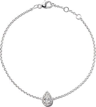 18kt white gold My First De Beers one diamond pendant necklace - Unavailable De Beers
