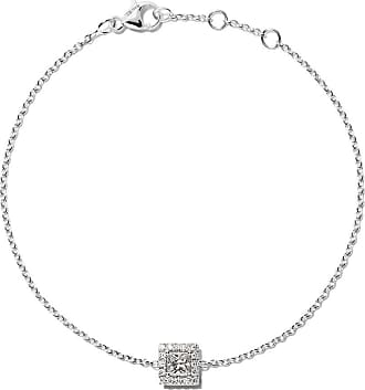 18kt white gold My First De Beers Aura princess cut diamond bracelet - Unavailable De Beers
