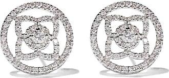 18kt rose gold Enchanted Lotus diamond stud earrings - Unavailable De Beers