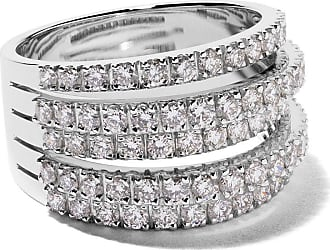 De Beers 18kt white gold Five Line diamond ring - Unavailable