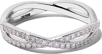 De Beers 18kt white gold Infinity full-pavé diamond band - Unavailable