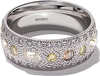 De Beers Black rhodium plated 18kt gold Azulea diamond band - Unavailable