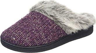 DearfoamsTwo-Button Boot with Memory Foam - Zapatillas Bajas Para Mujer, Color Negro (Negro 00001), Talla 38-39 EU (5-6 UK)