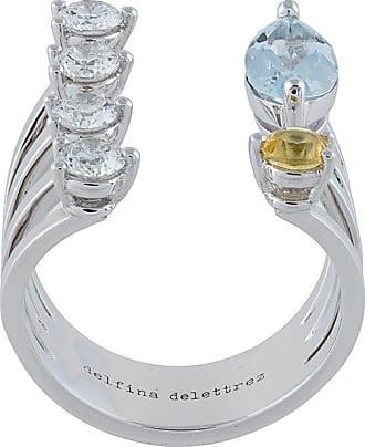 Delfina Delettrez Today Tomorrow Dots ring - Metallic