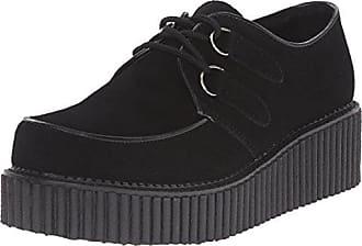 CREEPER-400, chaussures basses à lacets homme, Noir (schwarz), 39Demonia