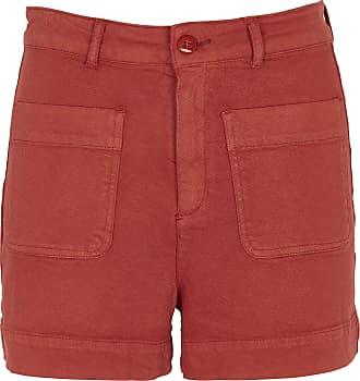 Jacquard-Shorts mit hohem Bund mit Grafik-Print Med Winds