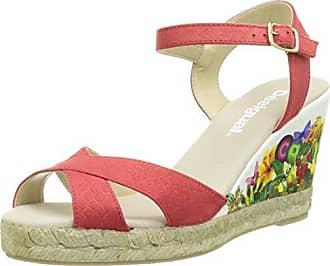 Desigual Shoes_Flip Flop 10, Damen Zehentrenner, Orange (3074 ROJISIMO), 36 EU (6 Damen UK)