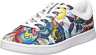 Desigual Shoe Me, Zapatillas Deportivas para Interior para Mujer, Naranja (Papikra), 36 EU