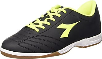 Diadora - Zapatillas de gimnasia de Lona para hombre negro negro / rojo negro Size: 45