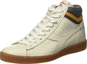 Diadora Game P High, Sneaker a Collo Alto Uomo, Multicolore (BCO/Vla Prugna/Gll Giunchiglia), 45.5 EU