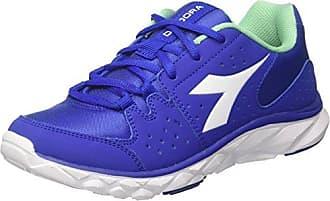 Diadora Run 90 Sneaker a Collo Basso, Unisex Adulto, Blu (Blu Profondo/Blu Micro), 38 EU (5 UK)
