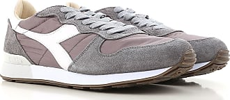 Sneaker Homme Pas cher en Soldes, Gris glace, Nylon, 2017, 41 42 43Diadora