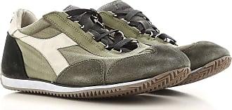 Sneaker für Herren, Tennisschuh, Turnschuh Günstig im Sale, Weiss, Leder, 2017, 42.5 44.5 Diadora
