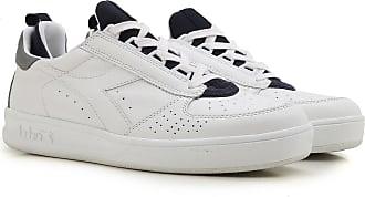 Sneaker Homme Pas cher en Soldes, Blanc, Cuir, 2017, 45Diadora