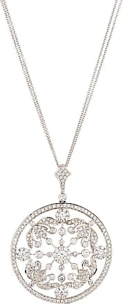 Diana M. Jewels 18k Diamond Pavé Coin Pendant Necklace