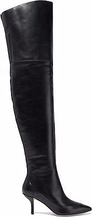 Diane von Furstenberg Woman Glossed-leather Over-the-knee Boots Size 5.5
