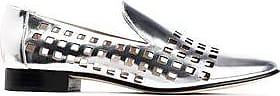 Diane Von Furstenberg Woman Linz Perforated Metallic Leather Loafers Silver Size 7.5 Diane Von F</ototo></div>                                   <span></span>                               </div>             <div>                                     <div>                                             <div>                                                     <a href=