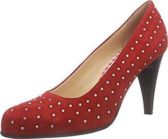 Diavolezza Kate, Zapatos de Tacón con Punta Cerrada para Mujer, Plateado (Grey), 40 EU