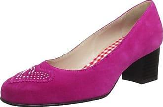 DiavolezzaCAMELIA - Zapatos de Tacón Cerrados Mujer, Color Rosa, Talla 36