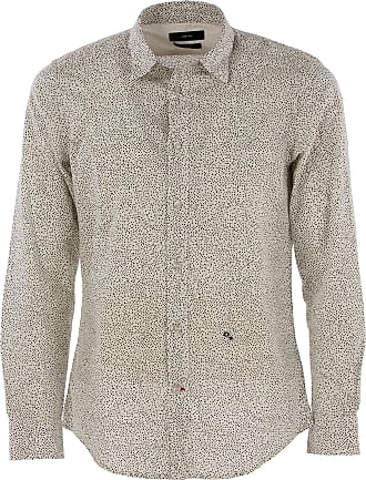 Shirt for Men On Sale in Outlet, White, Cotton, 2017, M Diesel