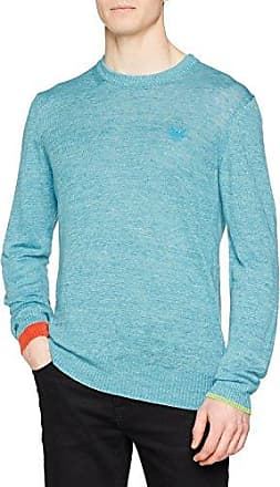 00SD9S, Jersey para Hombre, Azul (Peacoat Blue 8at), X-Large (Tamaño del Fabricante:XL) Diesel