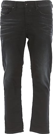Jeans On Sale in Outlet, Kakee, Black Denim, Cotton, 2017, 33 Diesel