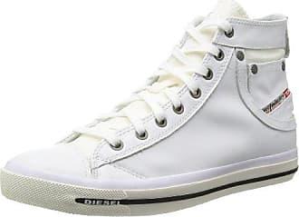 Diesel Exposure IV W, Zapatillas altas para Hombre, Blanco (T1003 White), 41 EU (7.5 UK)