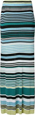 striped maxi skirt - Blue Diesel