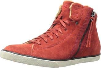 Diesel Beach Pit W Red, Schuhe, Sneaker & Sportschuhe, Hohe Sneaker, Rot, Female, 35