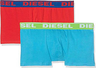 Umbx-Shawn Boxers, Bóxer para Hombre, Mehrfarbig (Red/Blue 16), Large Diesel