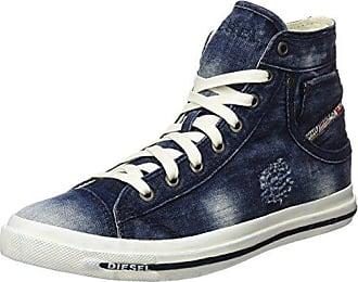 Diesel Magnete Exposure IV Low, Zapatillas para Mujer, Azul (Indigo), 39 EU
