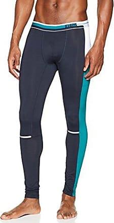Legging, Mallas de Entrenamiento para Hombre, Azul (Bleu Eclipse 5NC), Tallas De Fabricante: 5 Dim