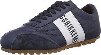 640979 - Zapatillas de cuero para unisex-adultos, color negro, talla 39 Dirk Bikkembergs