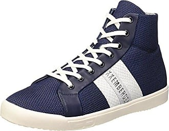 Herren Campus 737 M.Shoe M Fabric/Leather Durchgängies Plateau Pumps, Blau (Blue/White), 44 EU Dirk Bikkembergs