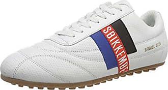 Soccer 2102, Baskets Homme, Blanc (White 800), 41 EUDirk Bikkembergs