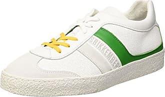 Sneakers Basses Femme - Blanc - Blanc (White 800), 39 EU EUDirk Bikkembergs