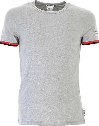 Camiseta de Hombre Baratos en Rebajas, Bluette, Algodon, 2017, XL Dirk Bikkembergs