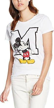 Disney Princess Filled Sillhouette Belle, Camiseta para Mujer, Azul (Sky Blue), 38 (Tamaño Fabricante:Medium)