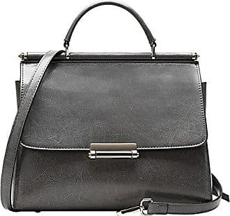 EQ0865 Damen Rose Leder Handtaschen Satchel Tote Taschen Schultertaschen,27X12X22CM(LxBxH) Dissa