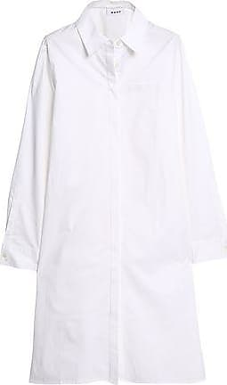 Dkny Woman Point Desprit Cotton-blend Blouse White Size S DKNY