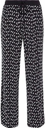 Dkny Woman Modal-pants Pajama Pants Dark Gray Size XS DKNY
