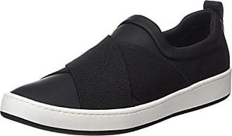 DKNY Brayden Stretch Classic Court, Zapatillas para Mujer, Beige (Limestone), 35.5 EU
