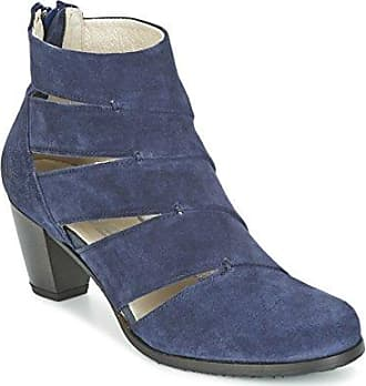 DKODE »Jade« Cowboy Stiefelette, mit zartem Blütenprint, blau, EURO-Größen, blau-multi
