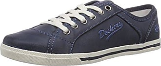 Dockers by Gerli 27ch247-620 - Sneaker a Collo Alto Donna, Nero (Schwarz), 36 EU