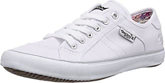 38PD205-610592, Baskets Basses Femme, Blanc (Weiss/Rosegold), 39 EUDockers by Gerli