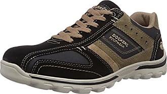 41jf008-208, Sneakers Basses Homme, Gris (Dunkelgrau/Schwarz), 45 EUDockers by Gerli
